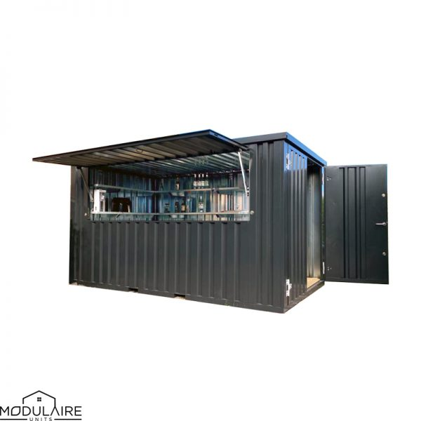 Demontabele bar container 4 x 2 m