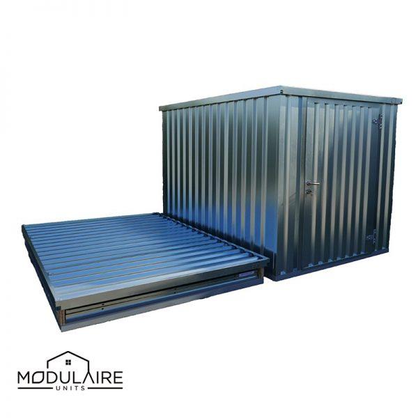 Demontabele container gegalvaniseerd