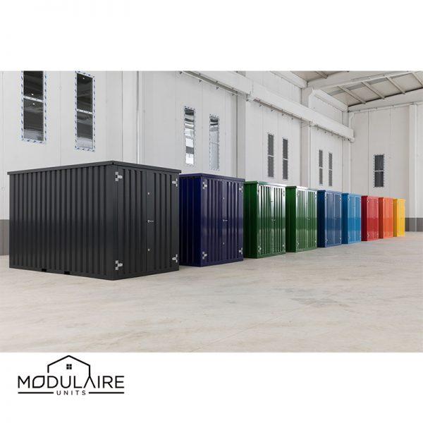 Demontabele container in kleur