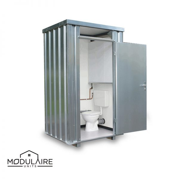 Mobiele toiletcontainer 1,40 x 1,25 m
