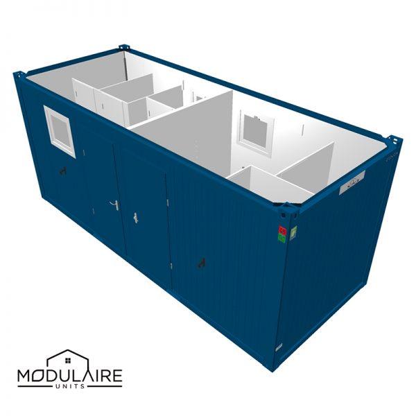 VOORRAAD MODEL | Sanitaire Combi Unit 6,05 x 2,43 m