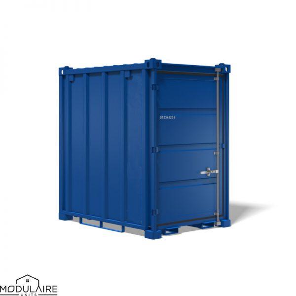 5ft kleine container - 2,20 x 1,60 m in alle RAL kleuren
