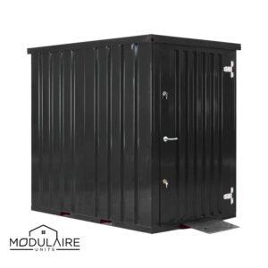 Container Tuinhuis - 1,5 x 2,2m - RAL 9005