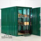 Container tuinhuis 1,50 x 2,28 m