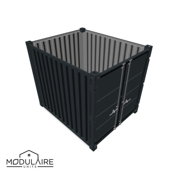 10ft zeecontainer - 2,99 x 2,44 m RAL 7016
