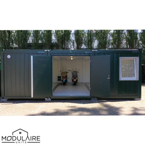 De garage unit bij Het Wapen van Zoetermeer