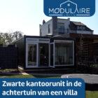 Luxe woonunit in een achtertuin van een villa