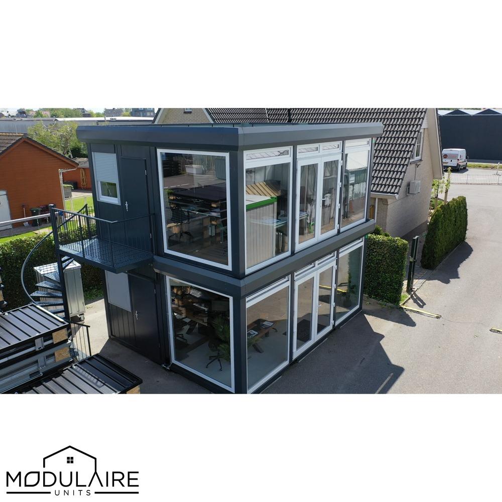 Modulaire unit kantoor, twee verdiepingen